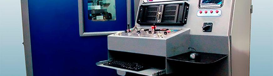 ABINE DE RADIOSCOPIA E RADIOGRAFIA (RAIOS X) INDUSTRIAL